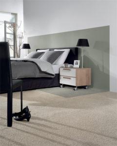 Decoratiewerken coussement schilderwerken slaapkamer zwevegem